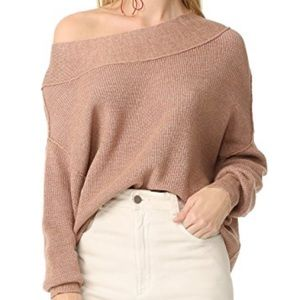 Free People Alana off the shoulder sweater